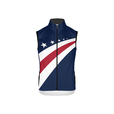 USA Cycling Men's Race Cut Wind Vest