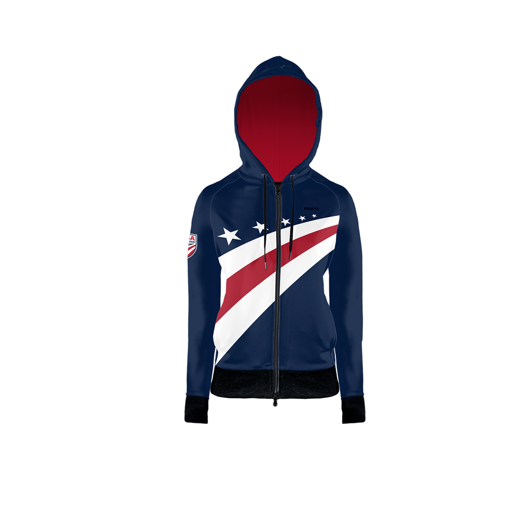 USA Cycling Women's Traceuse Hoodie