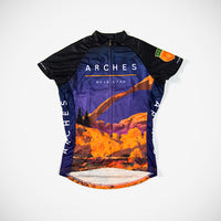 Arches National Park Women's Sport Cut Cycling Jersey