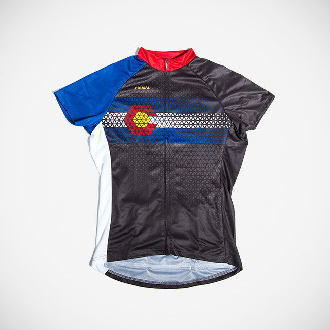 a41e021fc4c Colorado Women's Sport Cut Cycling Jersey – Primal Wear