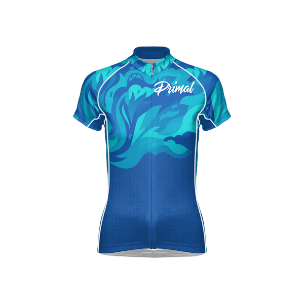 Fierce Women's Blue Flame Evo Cycling Jersey