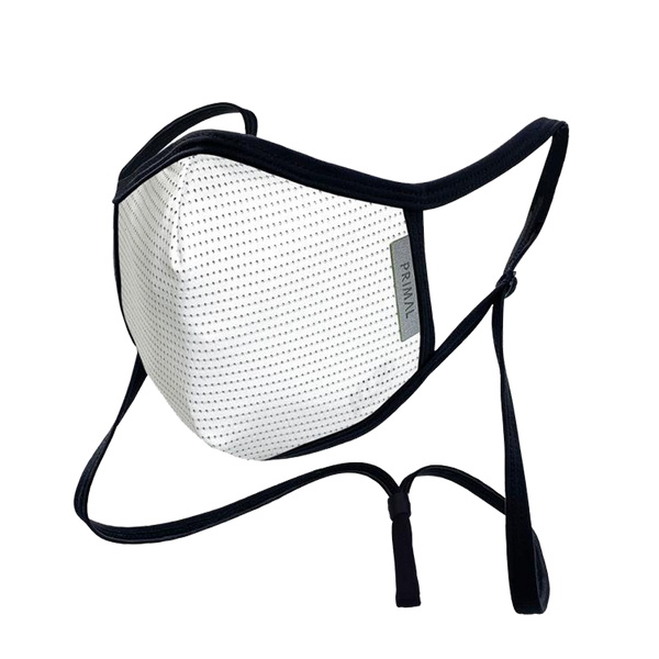 Carbon White 2.0 Mask Filter + Frame Bundle w/ Neck Strap