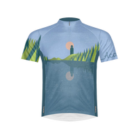 Acadia National Park Men's Sport Cut Cycling Jersey