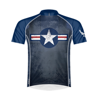 U.S. Air Force Vintage Logo Men's Sport Cut Cycling Jersey