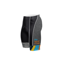 Bike MS Men's Grey Prisma Shorts