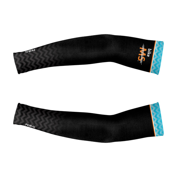 Bike MS Black Men's Arm Warmers