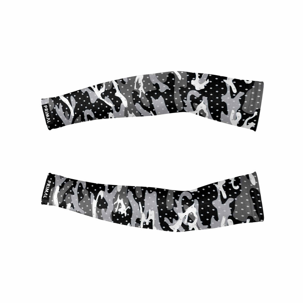 Basic Camo B+W Reflective Sleeves