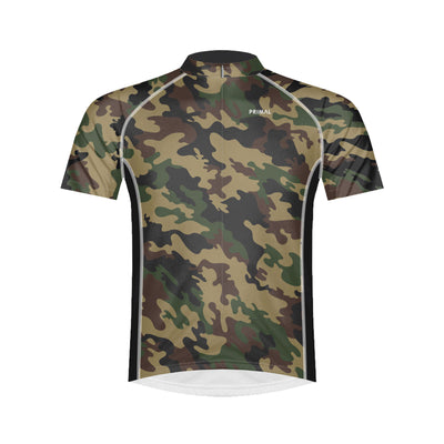 Basic Camo Men's Cycling Jersey