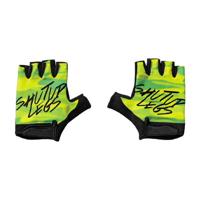 SUL Neon Camo Short Finger Gloves