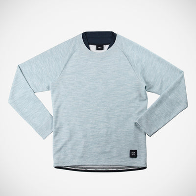 Courante Men's Long Sleeve - Light Blue