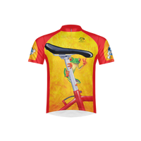 Retro Easy Rider Men's Sport Cut Cycling Jersey (3QZ)