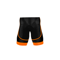 Ebony Men's Orange Evo Shorts
