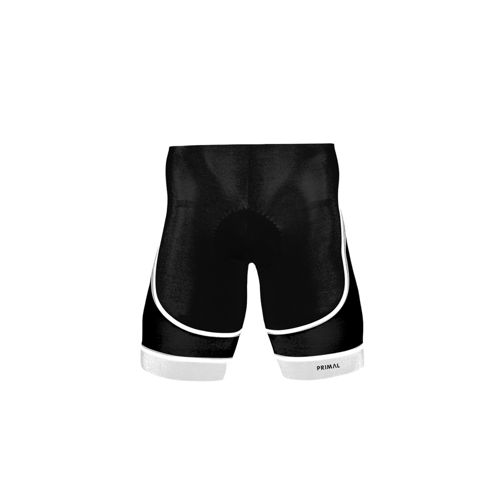 Ebony Men's White Evo Shorts