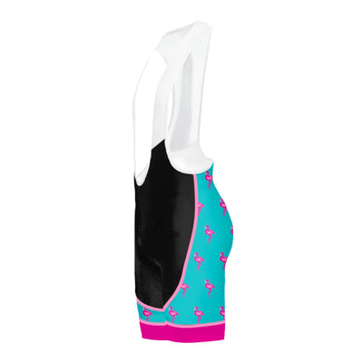 Flamingo Blue Women's Evo 2.0 Bibs
