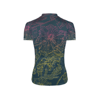 Floral Sketch Women's Sport Cut Cycling Jersey