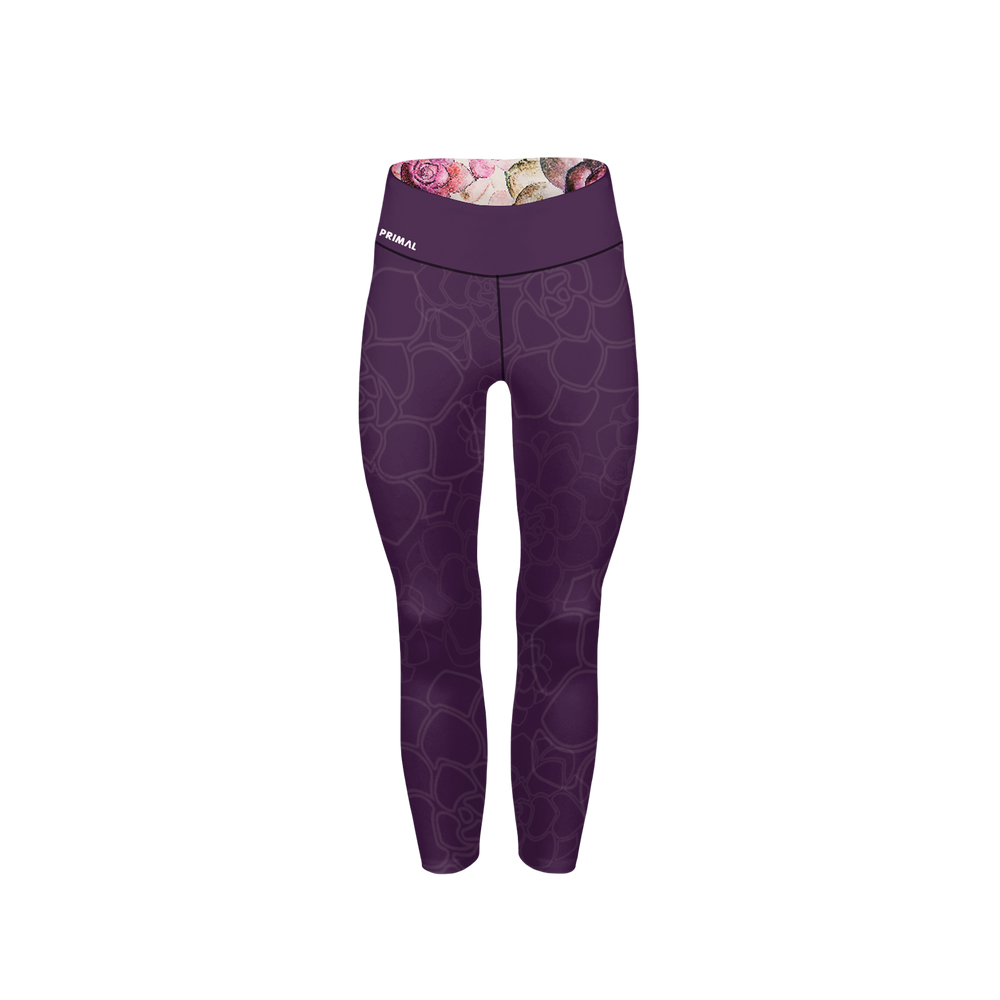 Women's Floral Spin Crop Tight