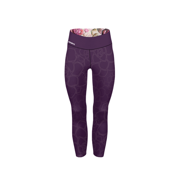 Women's Floral Crop Tight