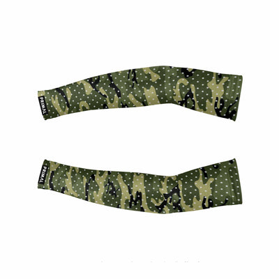 Basic Camo Green Reflective Sleeves