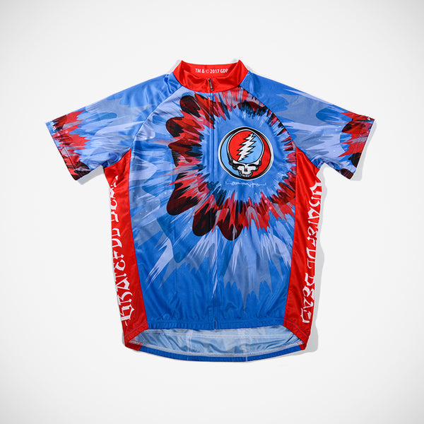 Grateful Dead Sapphire Men's Sport Cut Cycling Jersey