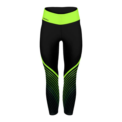 Surge Neon Green 7/8 Spin Tights