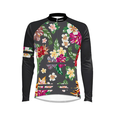 Hawaiian Women's Long Sleeve Cycling Jersey