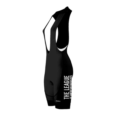 League of American Bicyclists Women's Black Evo 2.0 Bibs