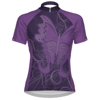 Mimsy Women's Cycling Jersey - Purple