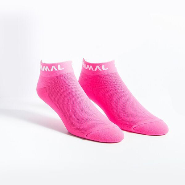 Neon Pink Low Icon Socks