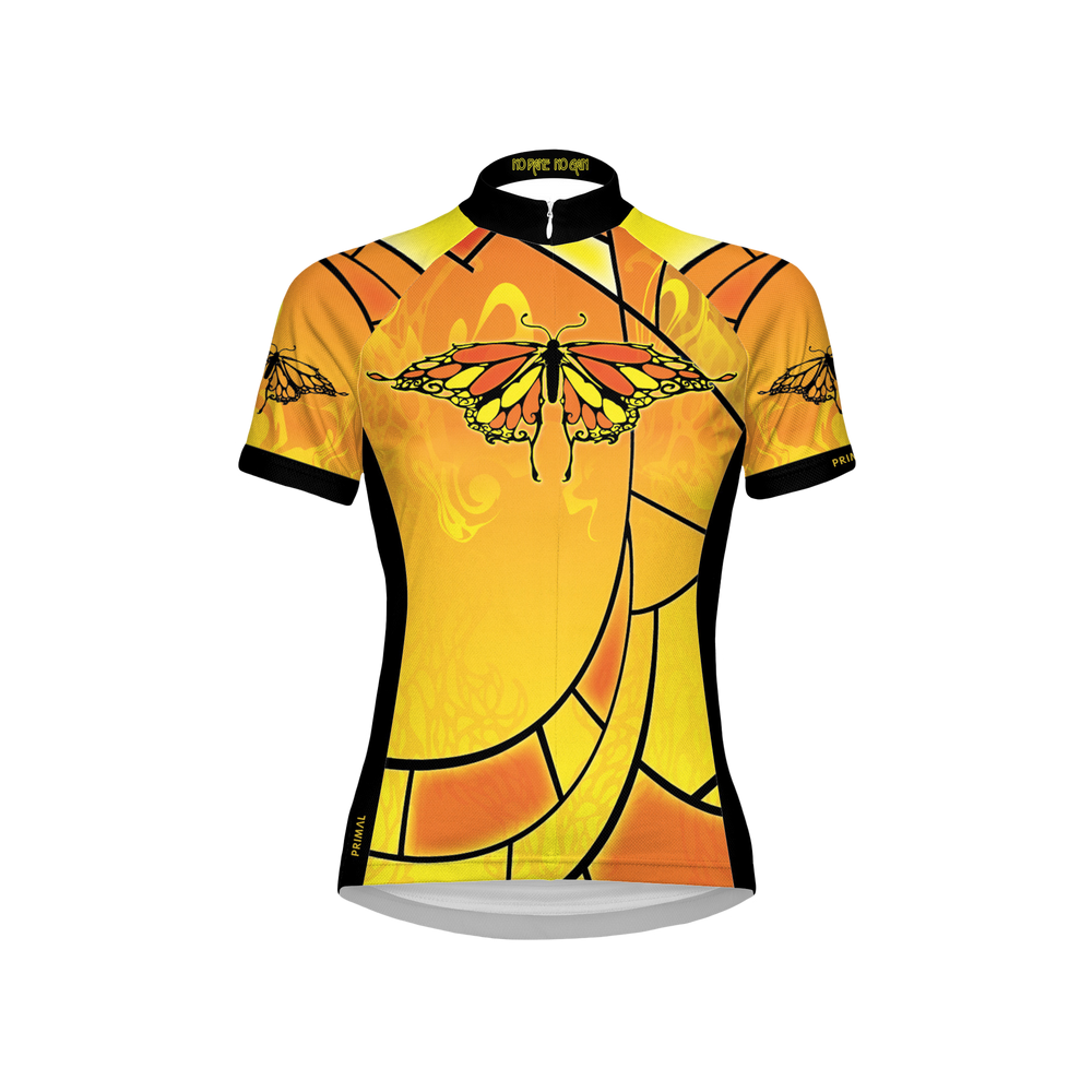 No Pane, No Gain Women's Sport Cut Cycling Jersey