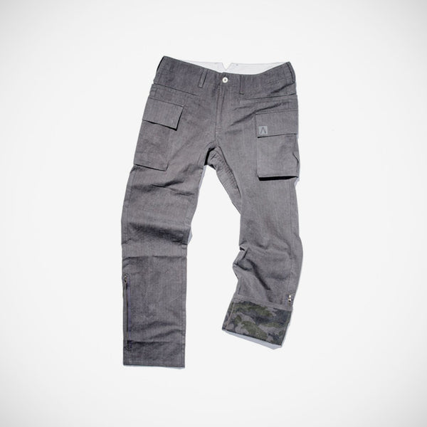 Ogunde Men's Cargo Pant - Dark Grey