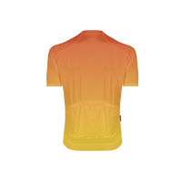 Fade In Men's Orange Omni Cycling Jersey