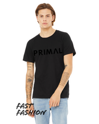 Primal Casual Men's Black T-Shirt