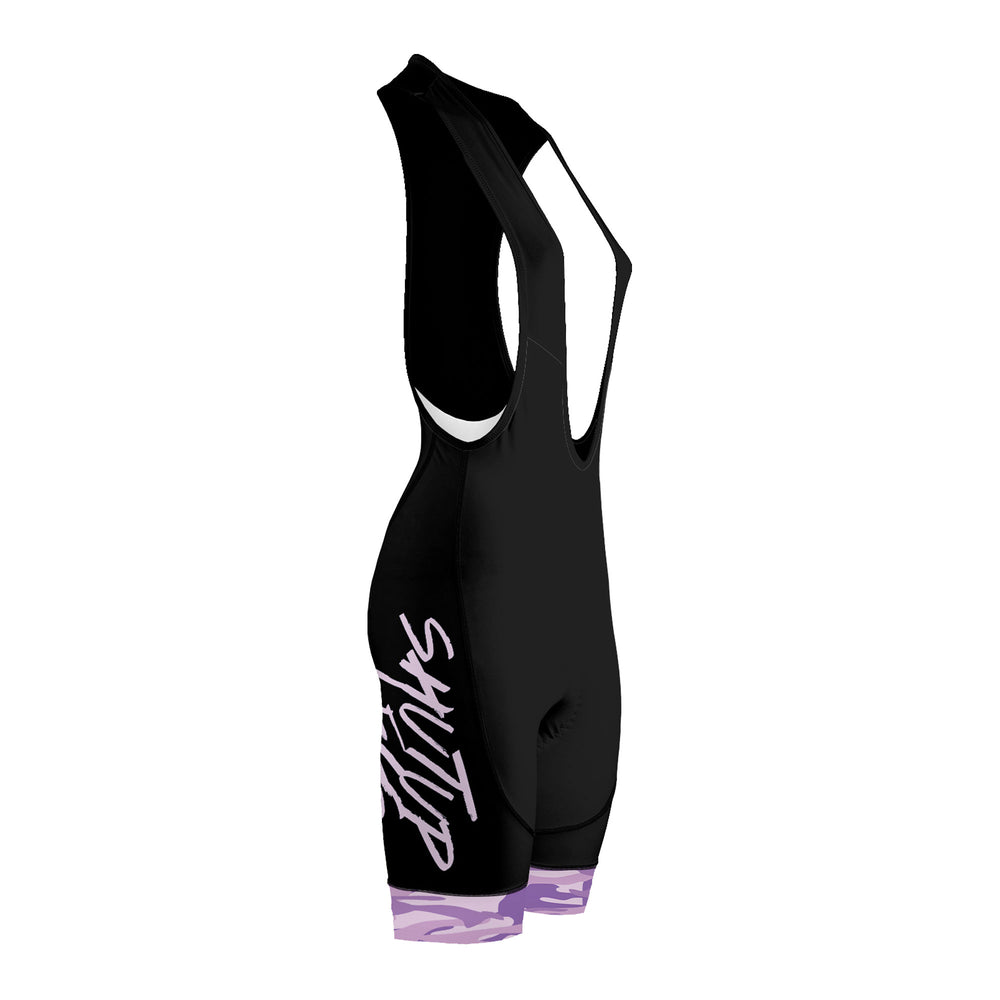 SUL Purple Camo Women's Evo 2.0 Bibs