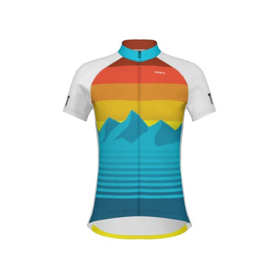 Rise and Set Women's Customizable Jersey