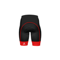 Ebony Men's Red Prisma Shorts