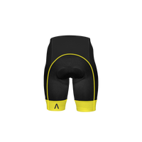 Ebony Men's Yellow Prisma Shorts