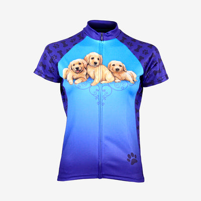 Puppy Play Women's Sport Cut Cycling Jersey