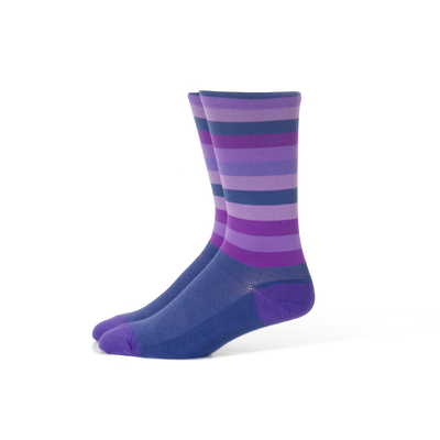 Purple Stripe Socks