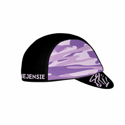 SUL Purple Camo Cycling Cap