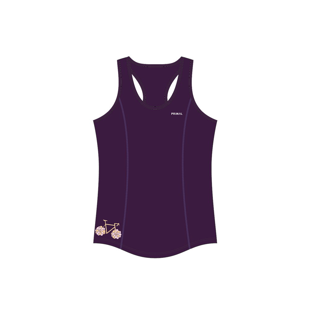 Women's Purple Spin Active Tank