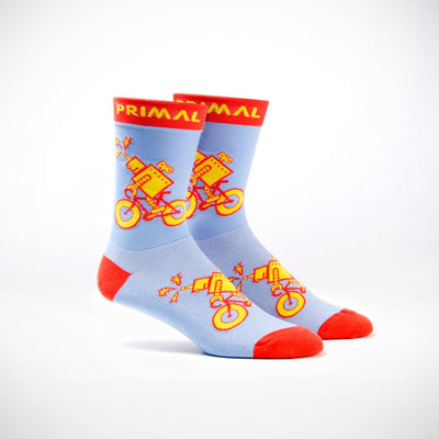 Pedal to the Metal Socks - Small Only