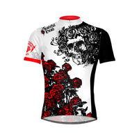 Grateful Dead Skull & Roses Men's Sport Cut Cycling Jersey
