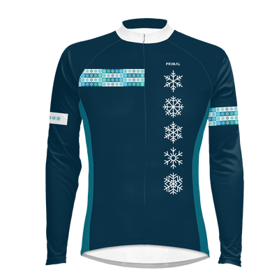 Snowflake Men's Long Sleeve Jersey