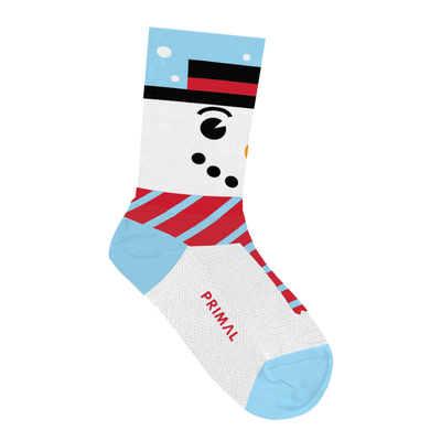 Snow Man Socks - Large Only