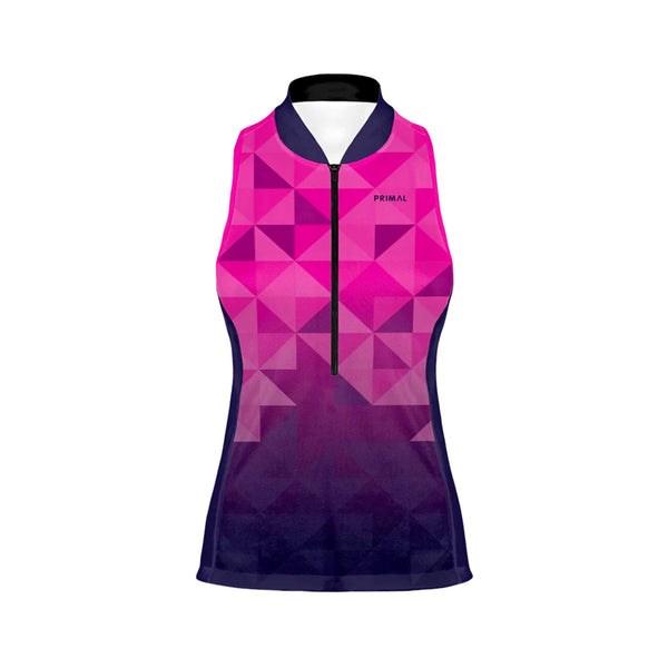 Trimotif Women's Purple Racerback Jersey