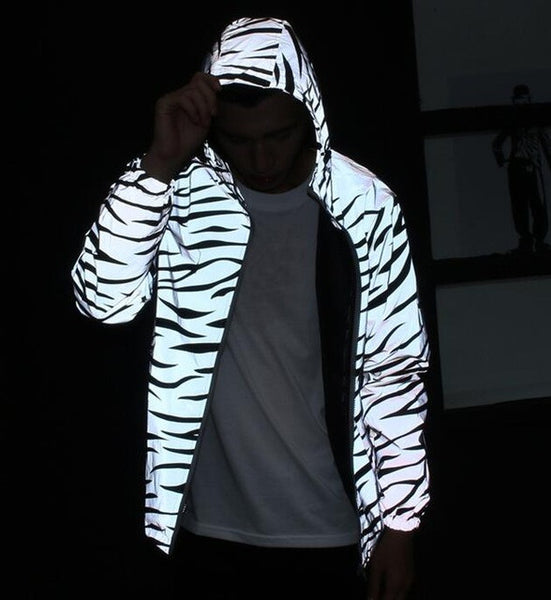 REFLECTIVE WINDPROOF JACKET