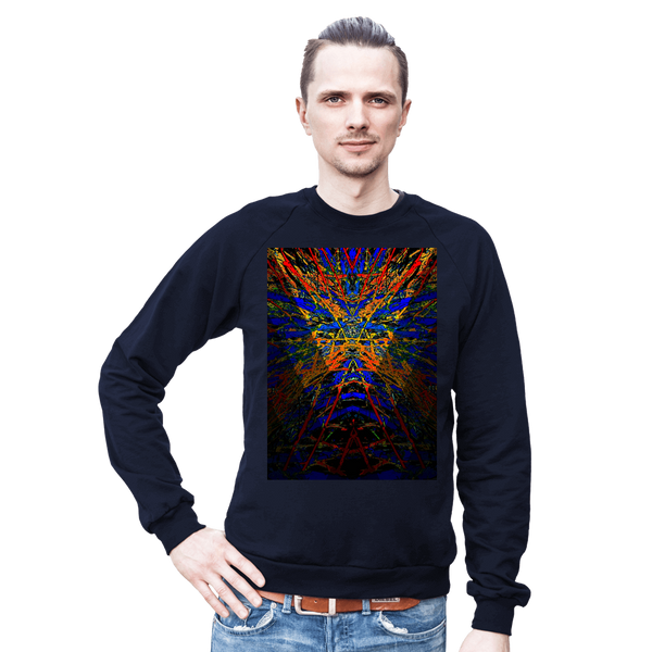 Sweater  / Dark Star Burst Graphic Design Series: By Jazart Rex - Jazart Store