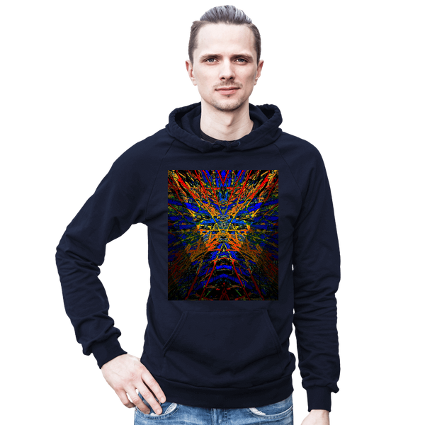 Hoodie / / Dark Star Burst Graphic Design Series: By Jazart - Jazart Store