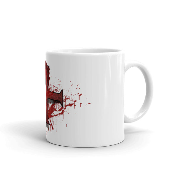 Mug made in the USA / Bloody Cross Fundraiser Mug - Jazart Store