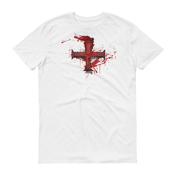 Graphic T-shirt / Bloody Red Cross Fundraiser Tee - Jazart Store